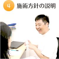 4.施術方針の説明